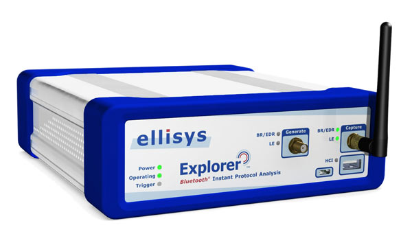 Анализатор протокола Bluetooth Ellisys  Explorer 400