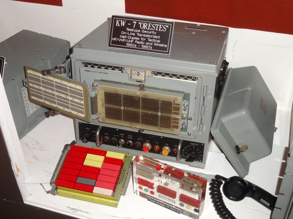 KW-7_ORESTES_Teletype_Security_Device,_1960s_to_1980s_.JPG